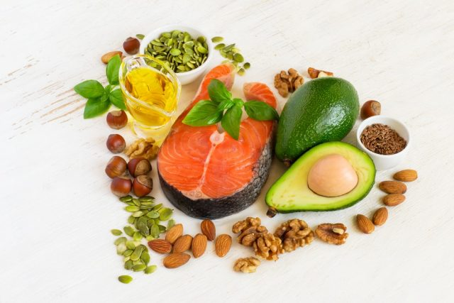 Food sources of omega 3 and healthy fats, healthy heart