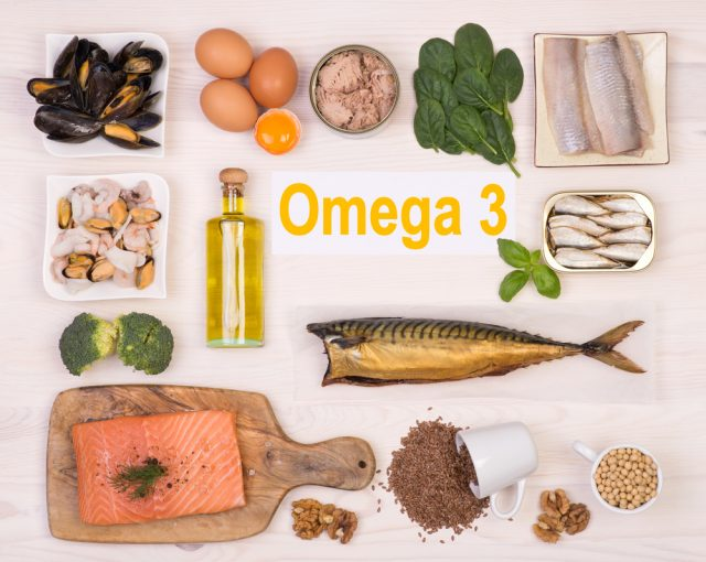 Ankle Pain Omega 3