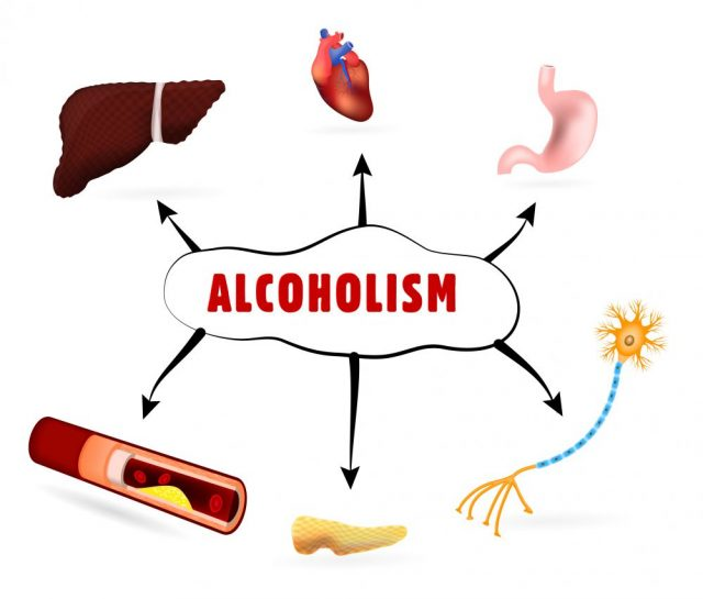 How does alcohol affect the reproductive system?
