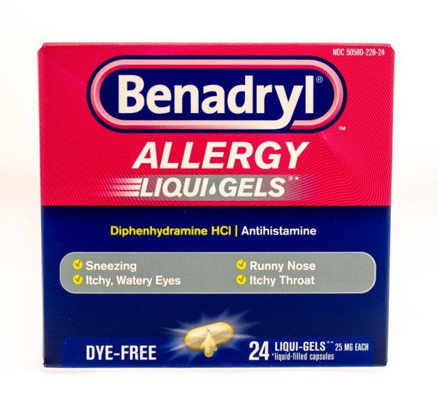 Ant Bites: Benadryl