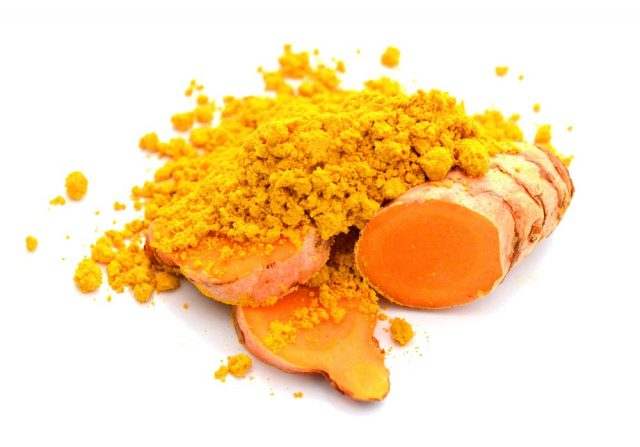 Turmeric powder and turmeric