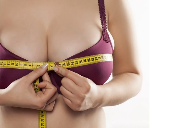 Loss of breast size