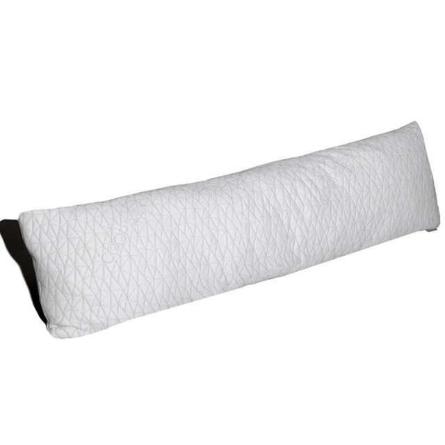 Coop Home Goods –Total Body Maternity Pillow with Adjustable Shredded Memory Foam