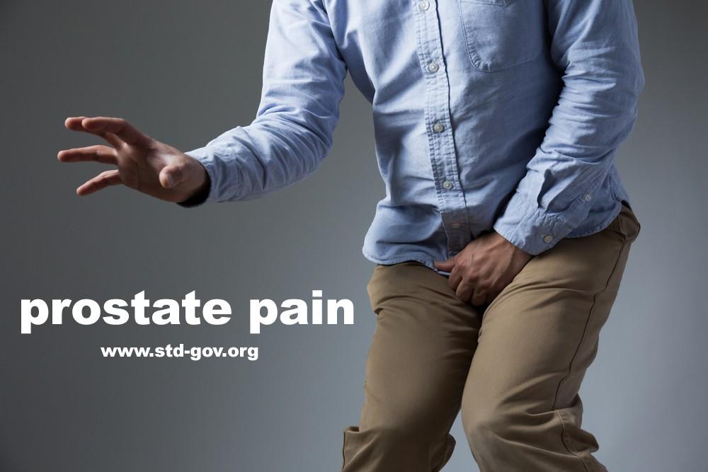 burning sensation in prostate