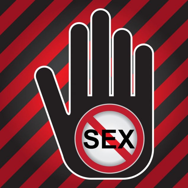 Infected patients should avoid sexual intercourse