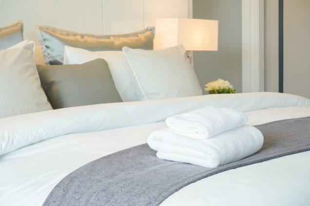 Avoid sharing bed linen