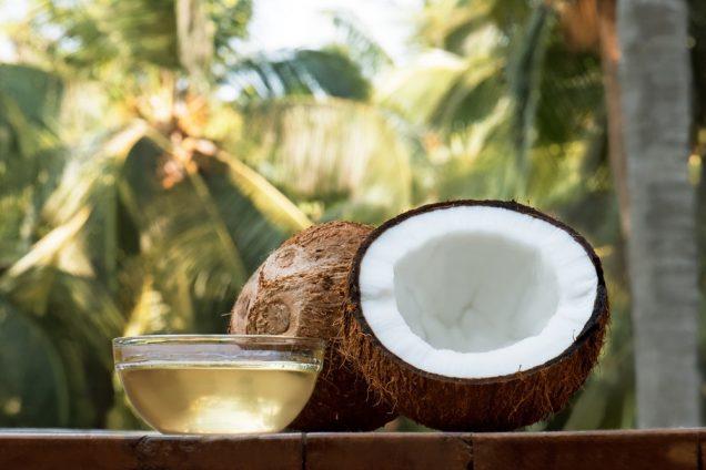 Molluscum Contagiosum: Coconut oil